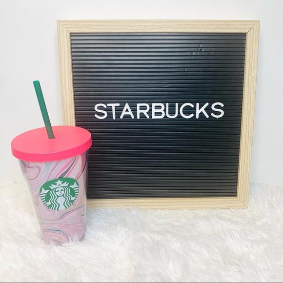 Starbucks 16oz Grande Geode Pastel Cold Cup